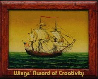 Wings' Award of Creativity