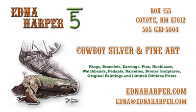 Edna Harper Custom Business Card Graphics Art Image